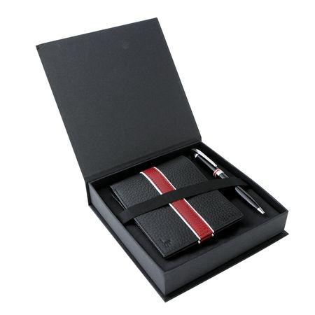 Комплект кожен портфейл и химикалка - Jean-Louis Scherrer