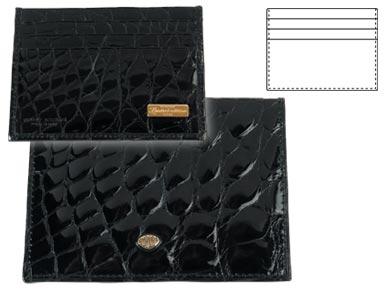 Портфейл за кредитни карти /лимитиран/ - Crocco Aligator