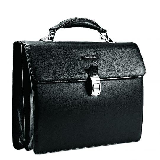 Бизнес чанта с две прегради Piquadro