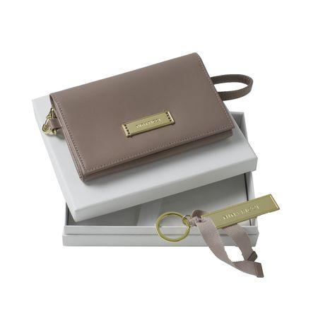 Комплект чанта за телефон + ключодържател в кутия