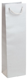 Подаръчен плик сребрист (висок - подходящ за бутилка)