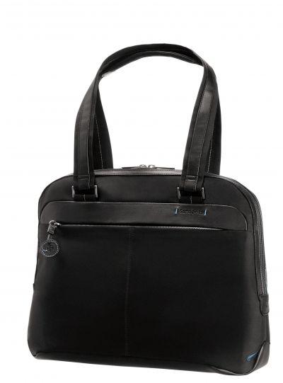 Черна дамска бизнес чанта за 15,6 инча лаптоп Spectrolite