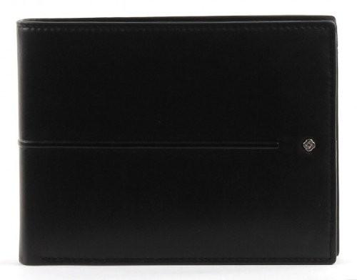 Черен мъжки портфейл от естествена кожа U76.09.007