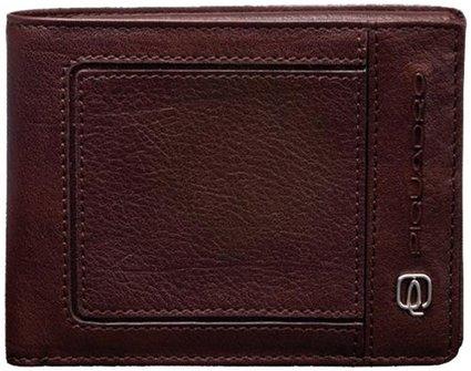 Мъжки портфейл Piquadro с 5 отделения за кредитни карти
