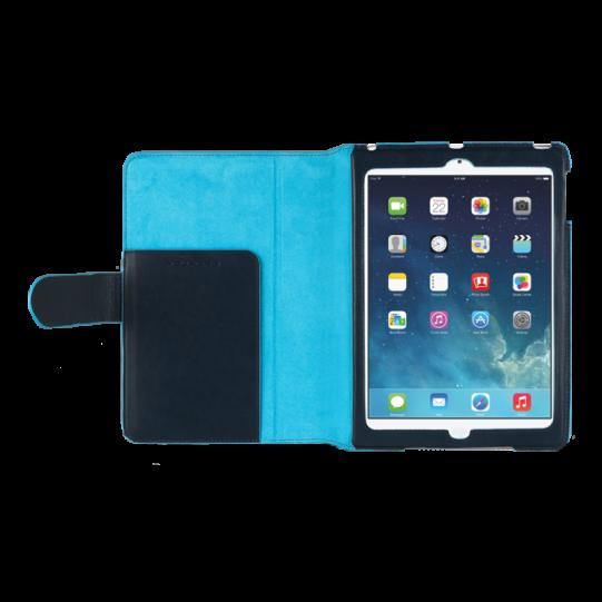 Стоящ кожен калъф за iPad Air с автоматична