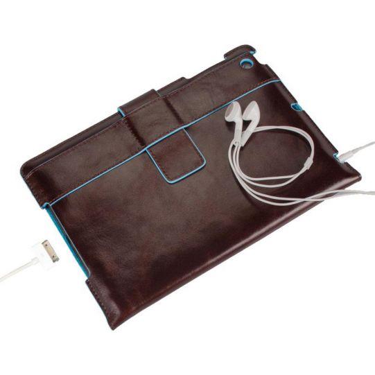 Стоящ кожен калъф за iPad mini с автоматична