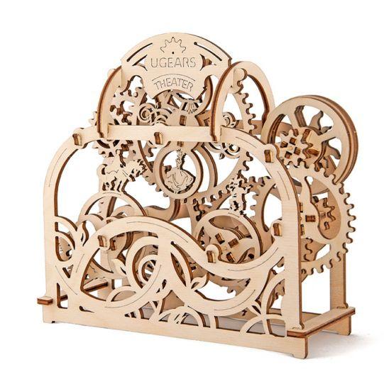 Механичен 3D пъзел - театър