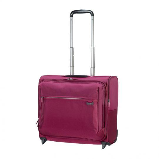 Лилава бизнес чанта на 2 колела Short-Lite