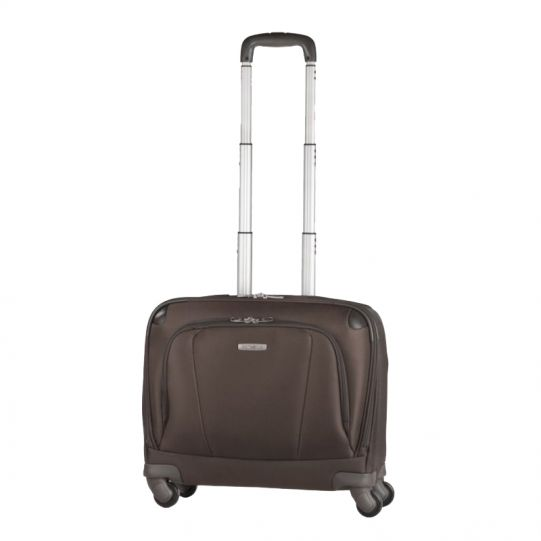 Кафяв бизнес куфар на 4 колела X'ion3 за 16 инча лаптоп