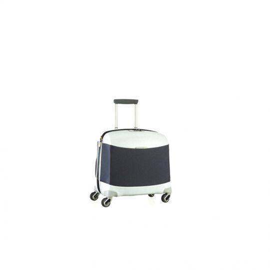 Бизнес куфар на 4 колела Litesphere 16,4 инча лаптоп цвят сребро/титан