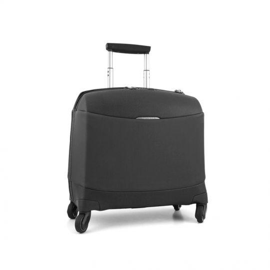 Бизнес куфар на 4 колела Litesphere 16,4 инча лаптоп черен цвят