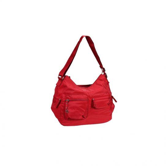 Червена дамска чанта MOVE, размер М + 1 джоб