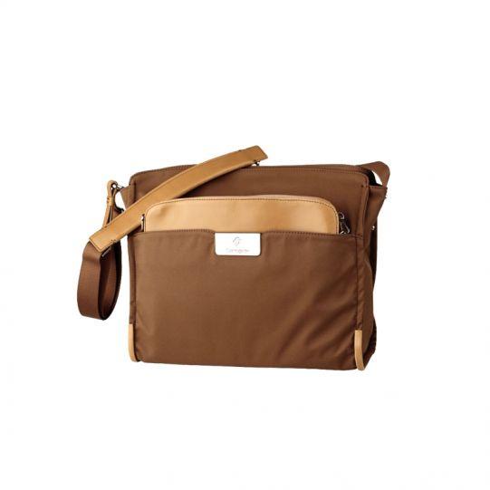 Дамска бизнес чанта за 10,2 инча лаптоп Lady Biz II цвят тютюн
