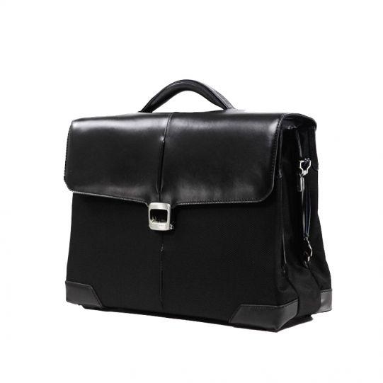 Бизнес чанта с 3 прегради S-Oulite за 15,6 инча лаптоп черен цвят