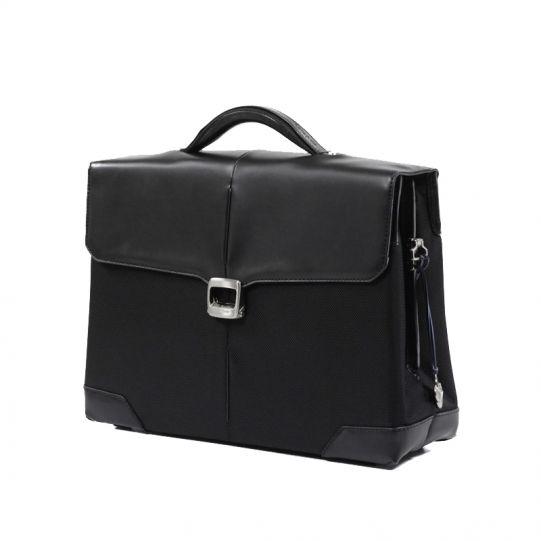 Бизнес чанта с 1 преграда S-Oulite за 15,4 инча лаптоп кафяв цвят