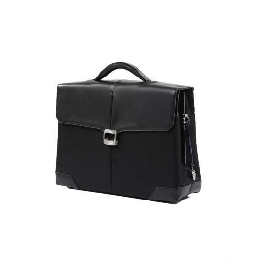 Бизнес чанта с 2 прегради S-Oulite за 15,6 инча лаптоп черен цвят