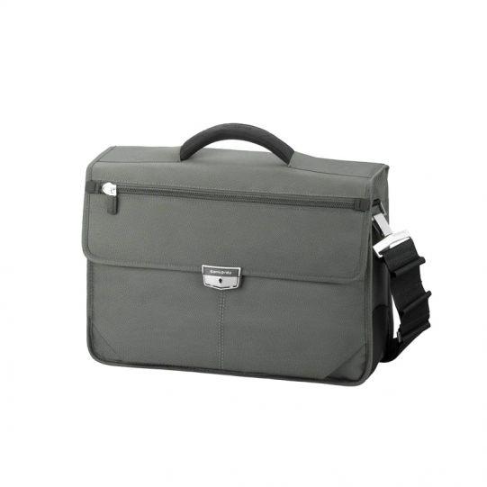 Бизнес компютърна чанта с 1 преграда Avior за 15,6 инча лаптоп сив цвят