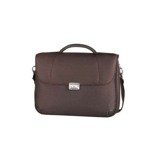 Кафява бизнес чанта X'ion3