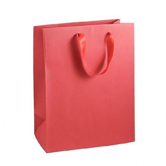 Подаръчна торбичка, червена, размер М