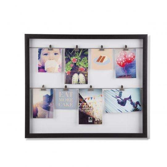 """UMBRA Колаж за снимки """"CLIPLINE"""" - цвят черен"""