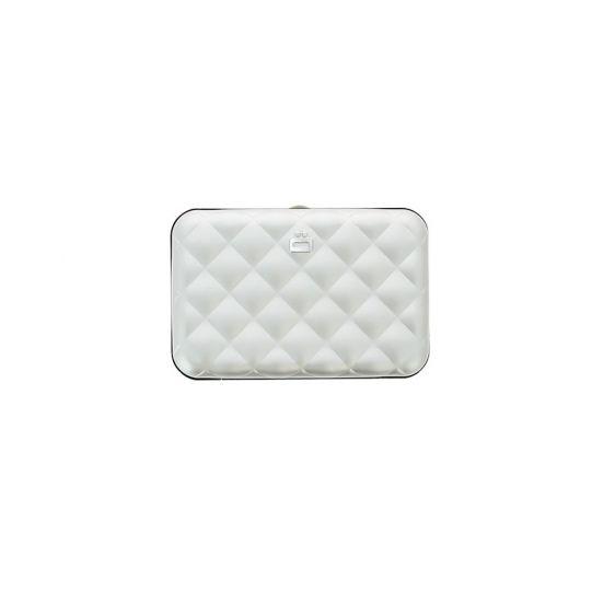 Дамски портфейл OGON Quilted Button, Черен