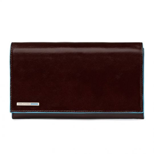 Дамски портфейл Piquadro с 16 отделения за кредитни карти и документи