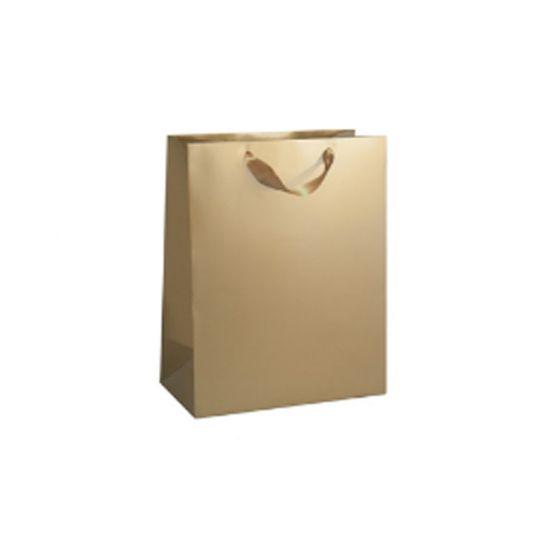 Луксозен подаръчен плик златист