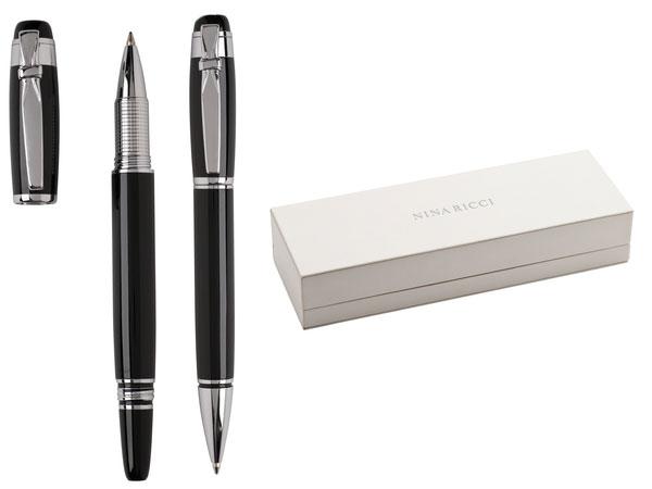 Комплект ролер и химикалка  NINA RICCI  TRADITION-SILVER