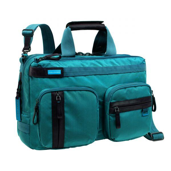 Чанта с две къси дръжки; допълнителна дълга дръжка за рамо - Piquadro