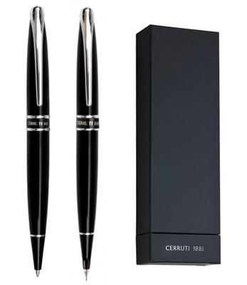 Комплект химикалка и автоматичен молив Cerutti 1881