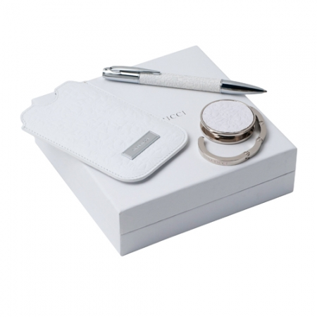 Комплект калъф за Iphone + химикалка и закачалка Nina Ricci
