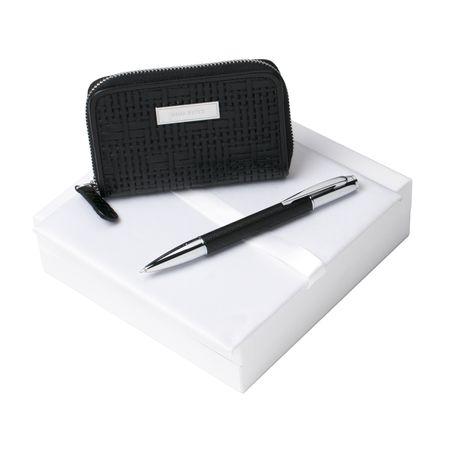 Комплект портфейл и химикалка Nina Ricci Trame B