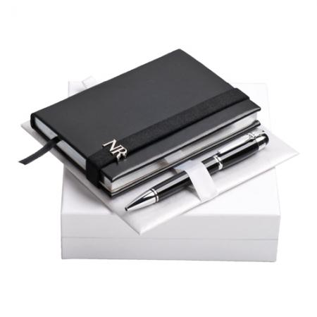 Комплект бележник и химикалка Nina Ricci