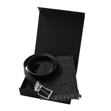 Christian Lacroix Комплект Кожен колан + Вълнен шал