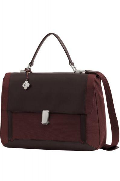 """Бизнес чанта с капак S-Teem за 14,1"""" лаптоп в ръждив цвят"""