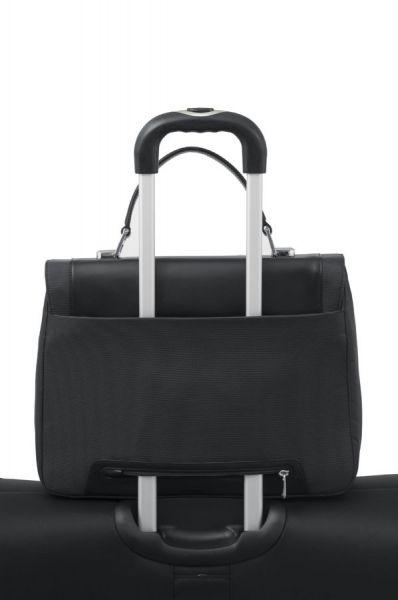 """Бизнес чанта с капак S-Teem за 14,1"""" лаптоп в черен цвят"""