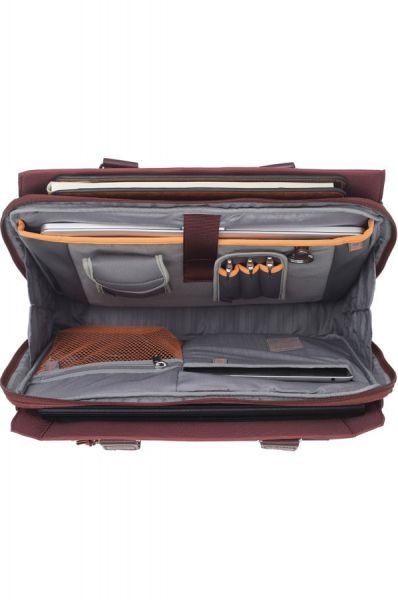 """Бизнес чанта S-Teem за 15,6"""" лаптоп в ръждив цвят"""