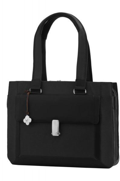 """Бизнес чанта S-Teem за 15,6"""" лаптоп в черен цвят"""