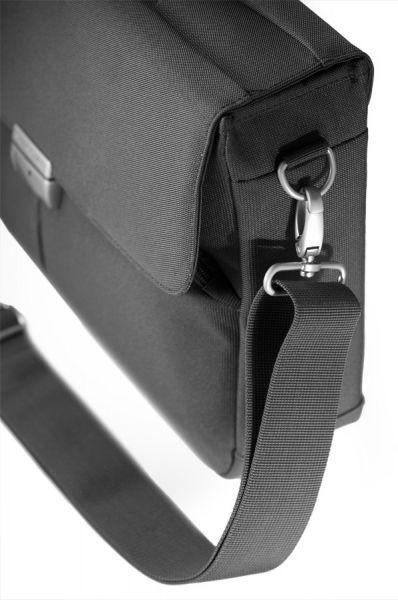 Компютърна бизнес чанта Cordoba Duo с две прегради 16 инча лаптоп цвят графит