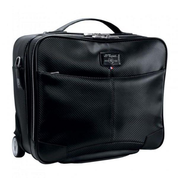 Чанта за лаптоп и документи с колелца S.T.Dupont Defi Carbone