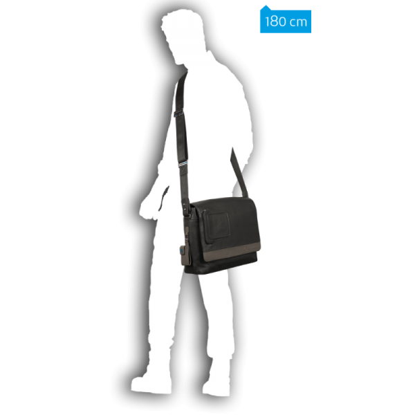 Briefcase Vibe Messenger Bag With Netbook Compartment CA2076VI/TM