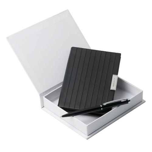 Комплект химикалка и тефтер Nina Ricci Trace Noir