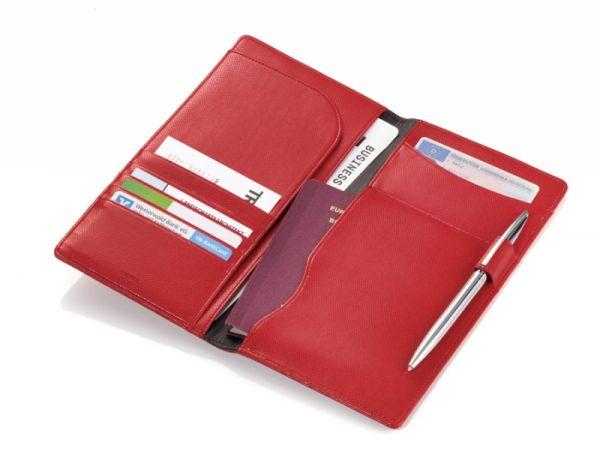 Кожен калъф за документи TROIKA - COLORI CONFIDENCE