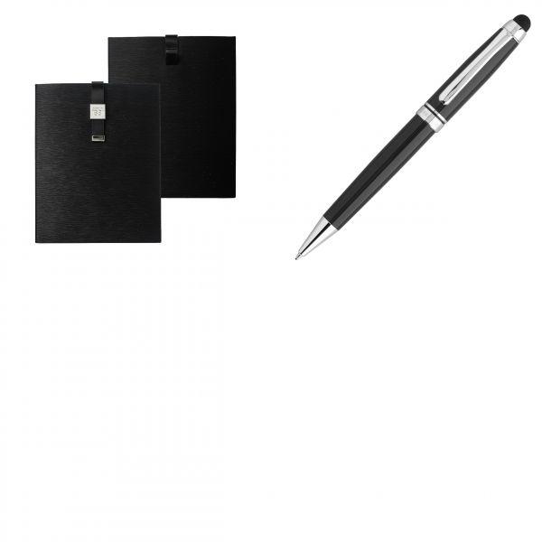 Cerruti Комплект Калъф за iPad и Химикалка