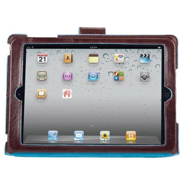 """Стоящ кожен калъф за iPad mini с автоматична """"sleep-awake"""" функция"""
