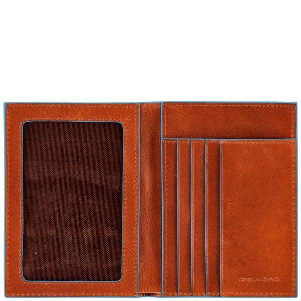 Мъжки портфейл Piquadro със 4 отделения за кредитни карти