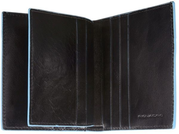 Портфейл Piquadro с 7 отделения за карти и документи