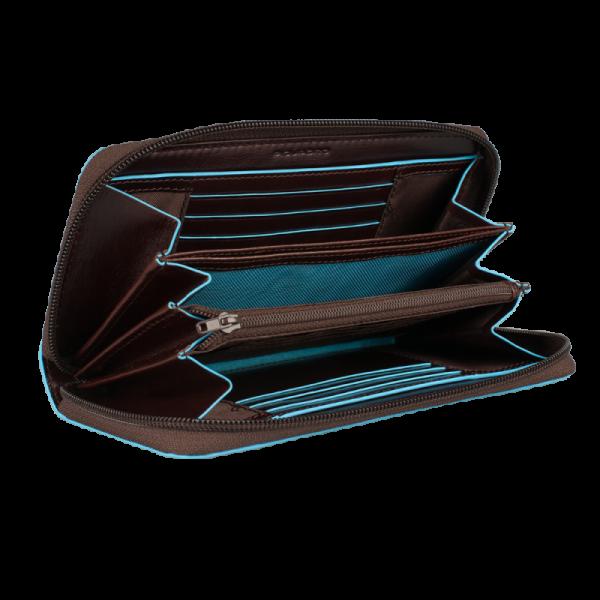 Дамски портфейл Piquadro с 12 отделения за кредитни карти