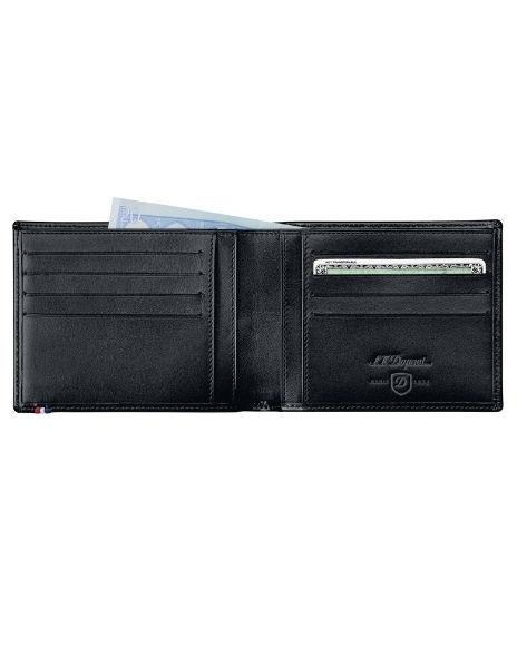 Портфейл S.T. Dupont Line D Contraste с 8 отделения за кредитни карти