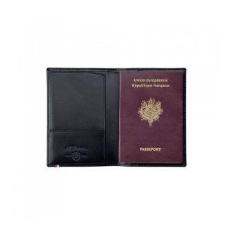Калъф за документи и самолетни билети S.T. Dupont с отделение за паспорт
